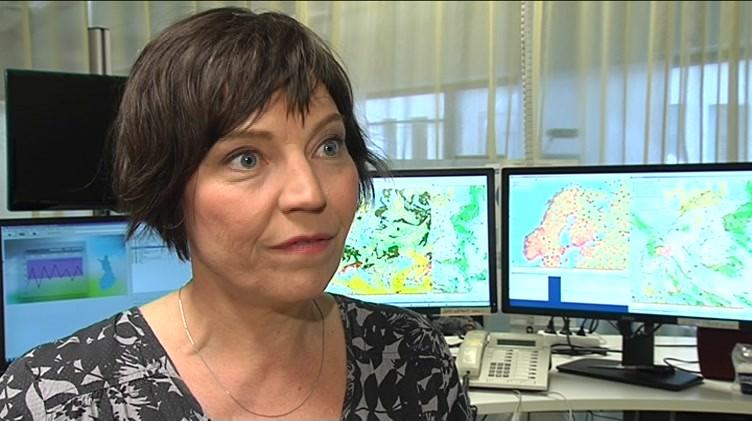 Meteorologen Anne Borgström om sommarvädret | Yle Nyheter TV-nytt | TV | Areena | yle.fi - 13-1-2916588